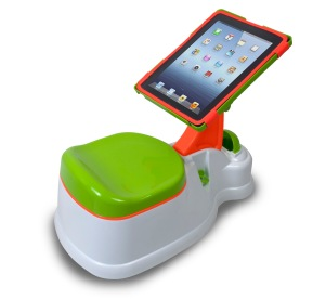You're basically a horrible parent if you don't buy your kid's an ipotty, I mean how did anyone live before these were invented?